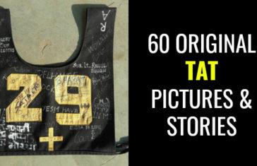 60 ORIGINAL TAT PICTURES & STORIES