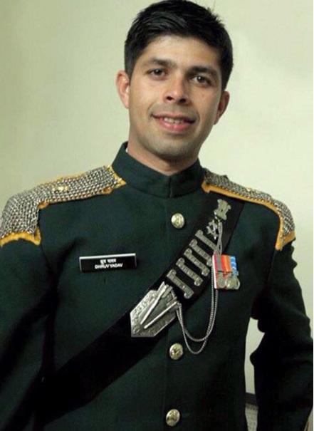 Chain Mail on Maj Dhruv Yadav's Blue Patrol