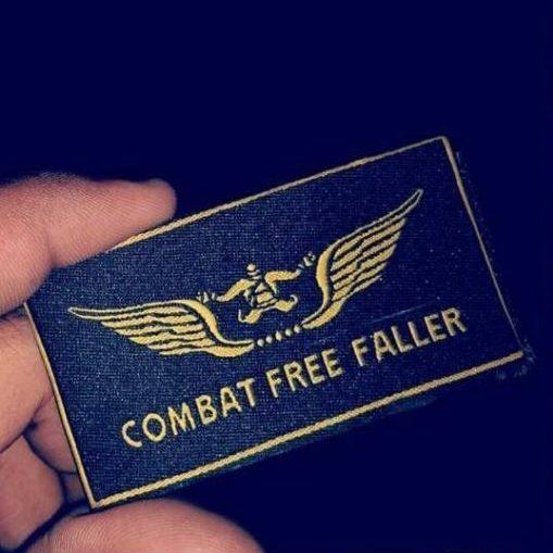 Combat Freefaller Badge