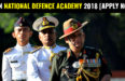 JOIN NATIONAL DEFENCE ACADEMY 2018 [APPLY NOW]