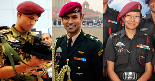 Maroon - Which Forces Are Authorized to Wear the Beret?
