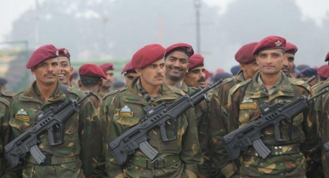 Personnel of Parachute Regiment
