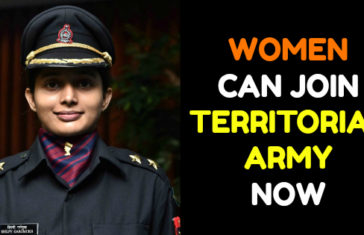 WOMEN CAN JOIN TERRITORIAL ARMY NOW