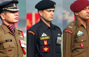 indian army uniforms