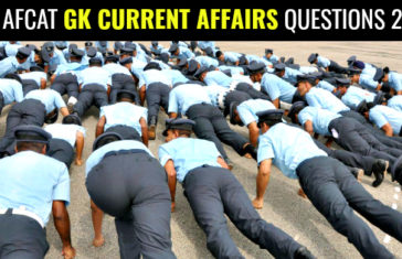 300 AFCAT GK Current Affairs Questions 2019