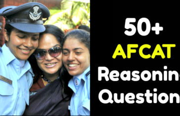 50+ AFCAT Reasoning Questions
