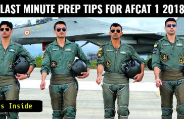 9 LAST MINUTE PREP TIPS FOR AFCAT 1 2018