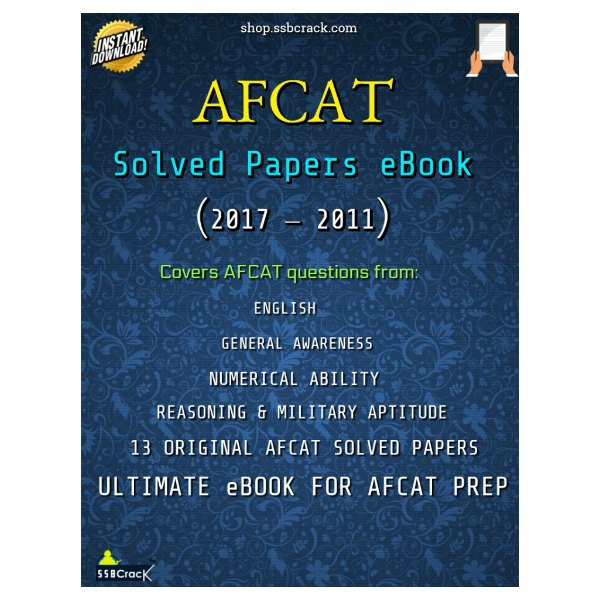AFCAT-Solved-Papers-eBook-SSBCrack
