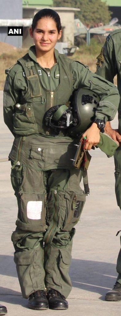 Flying Officer Avani Chaturvedi SSBCrack