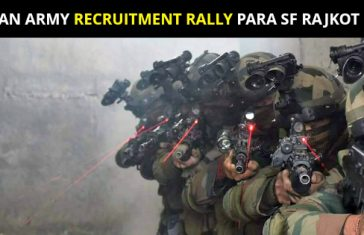 Indian Army Recruitment Rally PARA SF Rajkot 2018