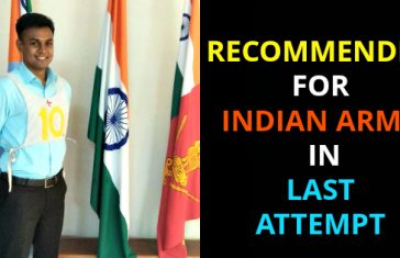 RECOMMENDED FOR INDIAN ARMY IN LAST ATTEMPT