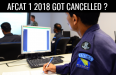 afcat 1 2018 cancelled