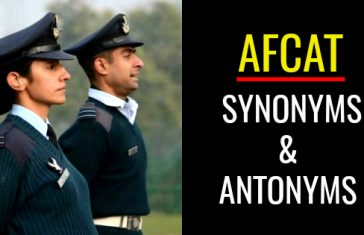 afcat SYNONYMS & ANTONYMS