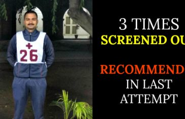 3 Times Screened Out, Recommended In Last Attempt