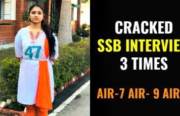 CRACKED SSB INTERVIEW 3 TIMES AIR-7 AIR- 9 AIR-1