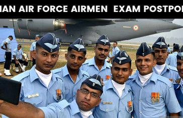 INDIAN AIR FORCE AIRMEN EXAM POSTPONED