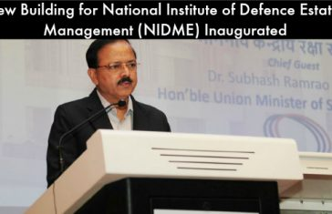 NIDEM Inauguration