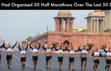 EME Had Organised 50 Half Marathons Over The Last 50 Days