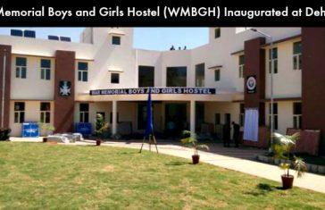 War Memorial Boys and Girls Hostel (WMBGH) Inaugurated at Dehradun