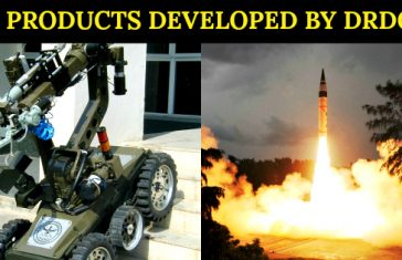 21 PRODUCTS DEVELOPED BY DRDO