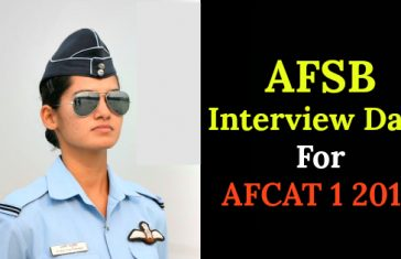AFSB Interview Date For AFCAT 1 2018