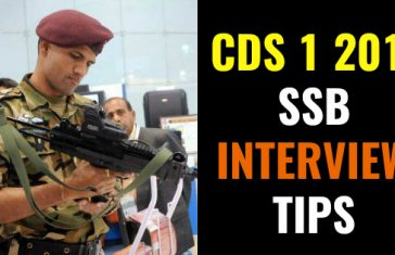 CDS 1 2018 SSB INTERVIEW TIPS