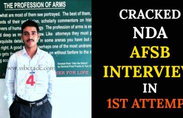 CRACKED NDA AFSB INTERVIEW IN 1ST ATTEMPT