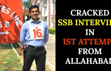 CRACKED SSB INTERVIEW IN 1ST ATTEMPT FROM ALLAHABAD