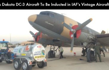 1940's Dakota DC-3 Aircraft To Be Inducted in IAF's Vintage Aircraft Flight