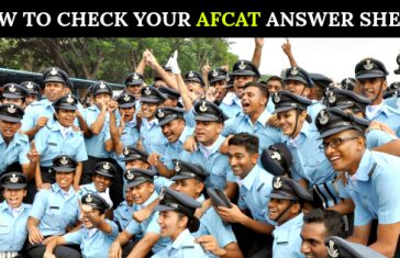HOW TO CHECK YOUR AFCAT ANSWER SHEET