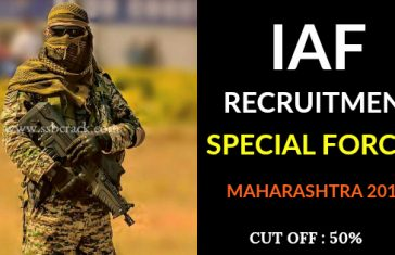 IAF RECRUITMENT SPECIAL FORCES MAHARASHTRA 2018