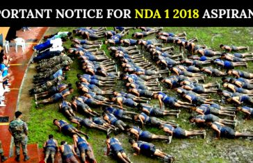 Important Notice For NDA 1 2018 Aspirants [Must Read]