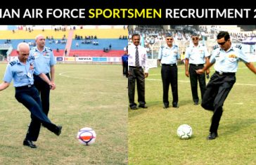 INDIAN AIR FORCE SPORTSMEN RECRUITMENT 2018