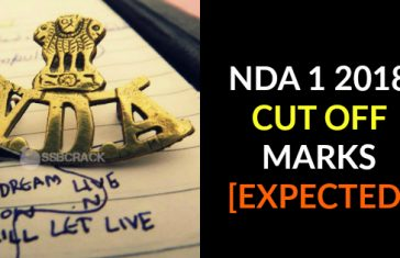 NDA 1 2018 CUT OFF MARKS [EXPECTED]