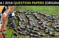 NDA I 2018 QUESTION PAPERS [ORIGINAL]
