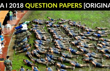 NDA I 2018 QUESTION PAPERS [ORIGINAL]