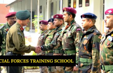 SPECIAL FORCES TRAINING SCHOOL NAHAN