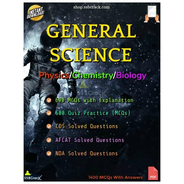 CDS NDA AFCAT General Science Questions 1400 MCQs eBook
