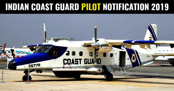 INDIAN COAST GUARD PILOT NOTIFICATION 2019