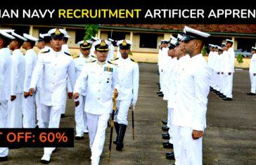 Indian Navy Sailor Recruitment Artificer Apprentice (AA) 2018