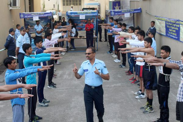 Indian Air Force Airmen Physical-Fitness-Test