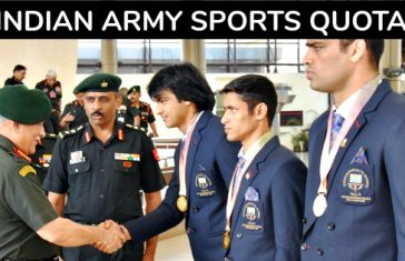indian army sports quota