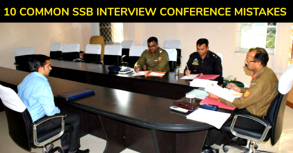 10 COMMON SSB INTERVIEW CONFERENCE MISTAKES