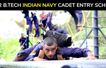 10+2 B.TECH INDIAN NAVY CADET ENTRY SCHEME