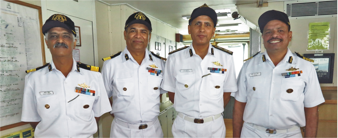 Coast Guard Officers