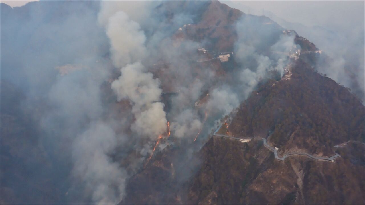 Containing Katra Forest Fire