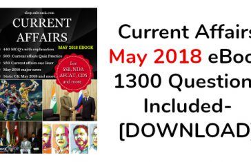 Current Affairs May 2018 eBook 1300 Questions Included- [DOWNLOAD]