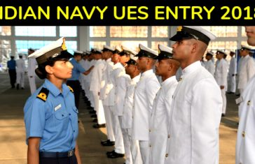INDIAN NAVY UES ENTRY 2018