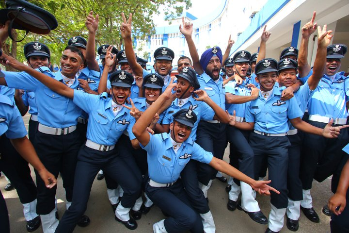 Indian Air Force Academy Passing Out Parade – 16th June 2018