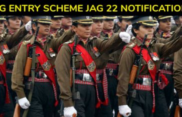 JAG Entry Scheme (JAG 22) – Indian Army Lawyer Recruitment 2018